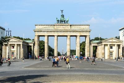 Brandenburger Tor, Berlin, Brandenburg, Germany, Europe-G & M Therin-Weise-Photographic Print