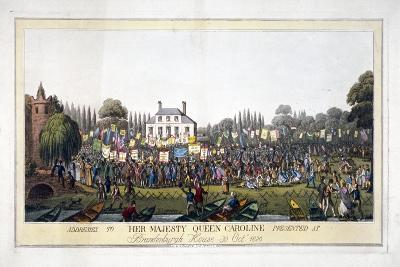 Brandenburgh House, Hammersmith, London, 1820--Giclee Print