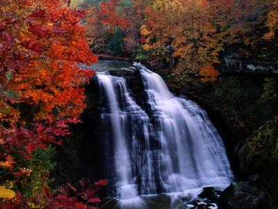 Brandywine Falls in the Cuyahoga National Recreation Area, Ohio-Melissa Farlow-Premium Photographic Print