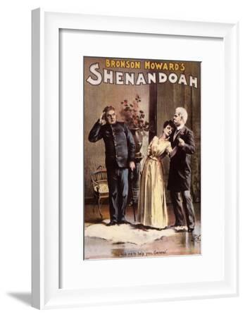 Branson Howard's Shenandoah, c.1889--Framed Giclee Print