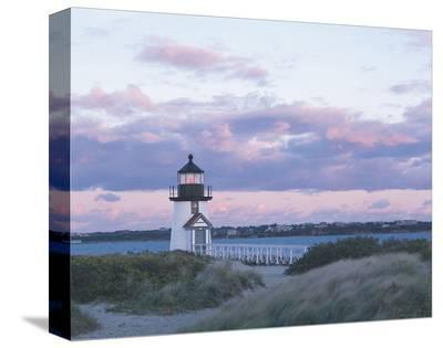 Brant Point Light-Rezendes-Stretched Canvas Print