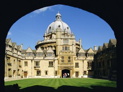 Brasenose College, Oxford University, Oxford, Oxfordshire, England, UK, Europe-Charles Bowman-Photographic Print