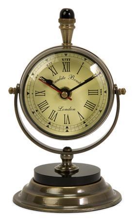 Brass Bureau Clock