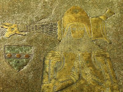 Brass to Sir Nicholas Dagworth, 1401--Giclee Print