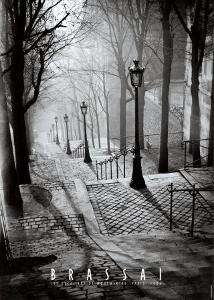 Les Escaliers de Montmartre, Paris by Brassaï