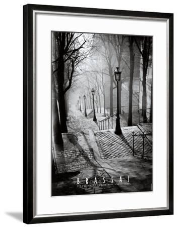 Les Escaliers de Montmartre, Paris