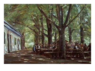 Brasserie À Branneburg (Outdoor Café in Branneburg, Germany), 1893-Max Liebermann-Giclee Print