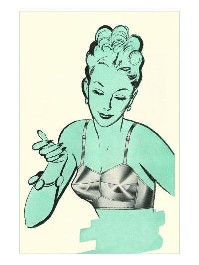 Brassiere Advertisement--Art Print