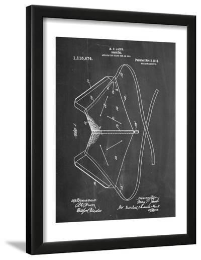 Brassiere Patent 1914--Framed Art Print