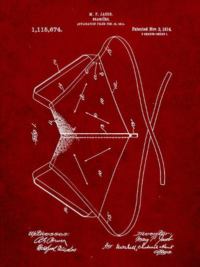 Brassiere Patent 1914-Cole Borders-Art Print