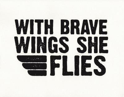 Brave Wings-Kyle & Courtney Harmon-Serigraph