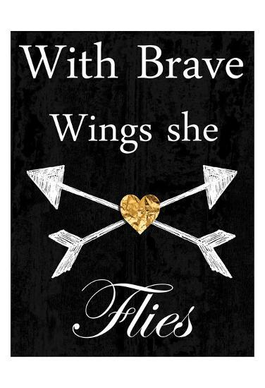 Brave Wings-Sheldon Lewis-Art Print