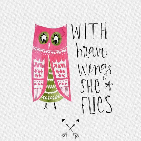Brave Wings-Katie Doucette-Art Print