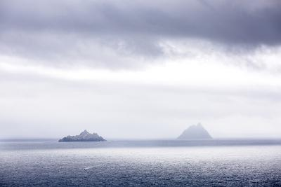 Bray Head, Bray, Kerry, Ireland: The Skellig Islands In Some Interesting Light-Axel Brunst-Photographic Print
