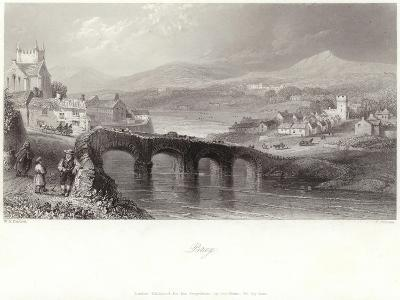 Bray in County Wicklow-William Henry Bartlett-Giclee Print