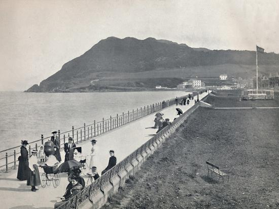 'Bray - The Promenade and Bray Head', 1895-Unknown-Photographic Print