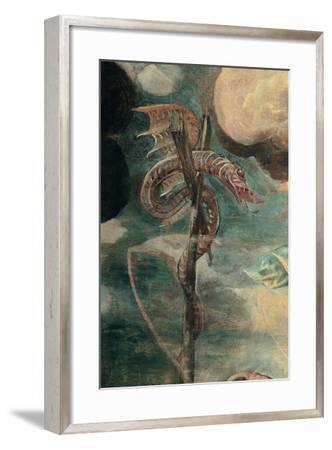 Brazen Serpent-Tintoretto-Framed Art Print