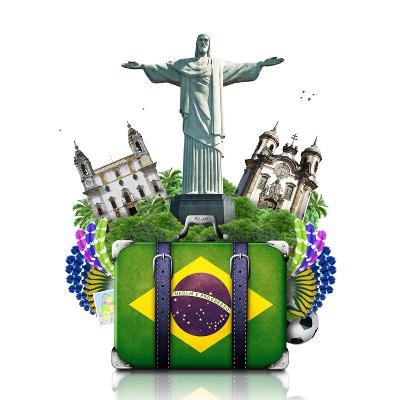 Brazil, Brazil Landmarks, Travel-Dorian2013-Art Print