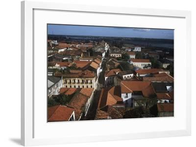 Brazil, Maranhao State, Sao Luis, Historic Centre, Rua Do Giz--Framed Giclee Print