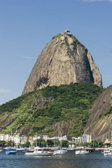 Brazil, Rio De Janeiro, Botafogo, Sugarloaf, Harbor-Chris Seba-Photographic Print