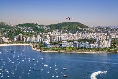 Brazil,Rio De Janeiro. Rio De Janeiro City Viewed from Sugar Loaf Mountain-Nigel Pavitt-Photographic Print