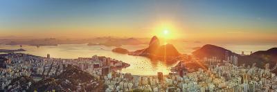 Brazil, Rio De Janeiro, View of Sugarloaf and Rio De Janeiro City-Michele Falzone-Photographic Print