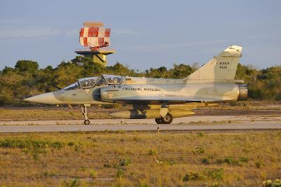 Brazilian Air Force F-2000 Taxiing at Natal Air Force Base, Brazil-Stocktrek Images-Photographic Print