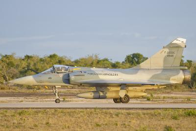 Brazilian Air Force Mirage 2000 at Natal Air Force Base, Brazil-Stocktrek Images-Photographic Print