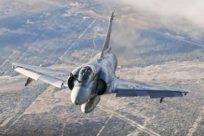 Brazilian Air Force Mirage 2000 Flying over Brazil-Stocktrek Images-Photographic Print