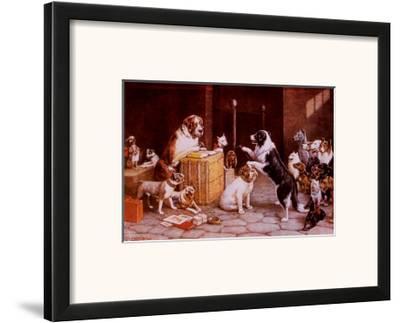 Breach of Promise Suit-Cassius Marcellus Coolidge-Framed Art Print