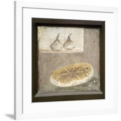 Bread And Figs, Roman Fresco-Sheila Terry-Framed Photographic Print