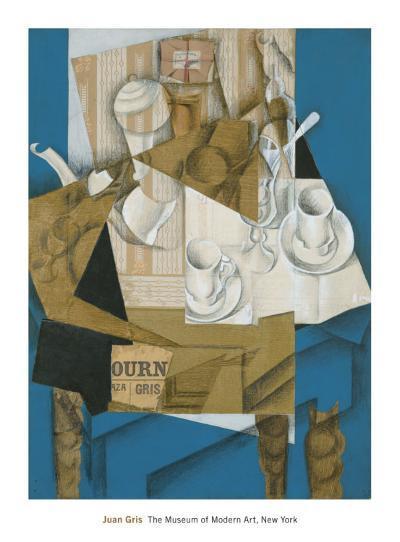 Breakfast, 1914-Juan Gris-Art Print
