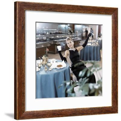 Breakfast at Tiffany's 1961 Directed by Blake Edwards Audrey Hepburn--Framed Photo