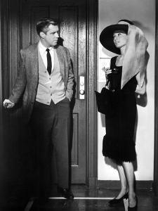 Breakfast at Tiffany's, George Peppard, Audrey Hepburn, 1961
