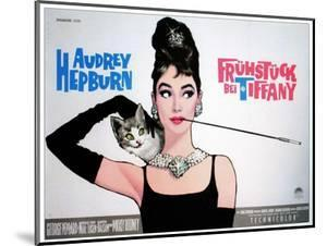 Breakfast At Tiffany's, Sweden Movie Poster, 1961