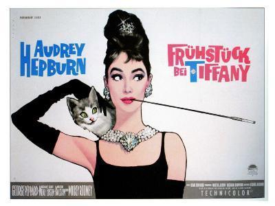 Breakfast At Tiffany's, Sweden Movie Poster, 1961--Art Print