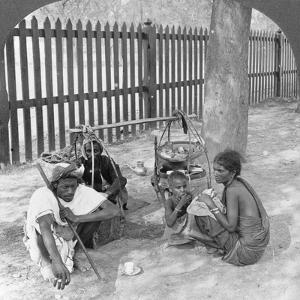 Breakfast by the Roadside Near Mandalay, Burma, 1908