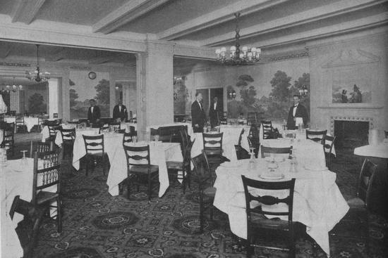Breakfast Room, Roosevelt Hotel, New York City, 1924-Unknown-Photographic Print