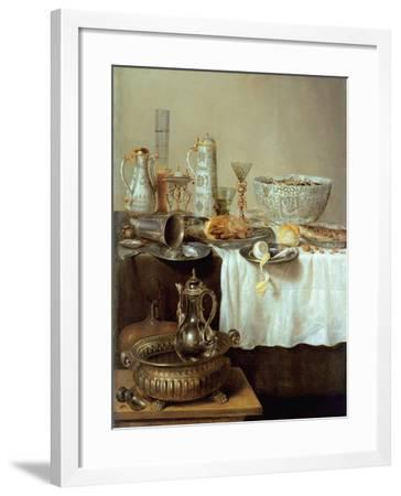 Breakfast Still Life, 1638-Willem Claesz. Heda-Framed Giclee Print