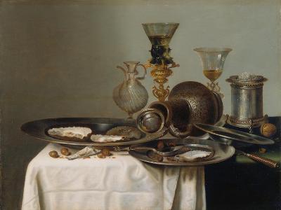 Breakfast Still Life-Willem Claesz Heda-Giclee Print