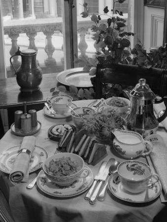 Breakfast Table-Chaloner Woods-Photographic Print
