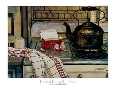 Breakfast Tea-Deborah Chabrian-Art Print