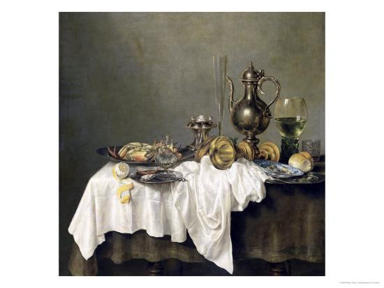 Breakfast with a Crab, 1648-Willem Claesz^ Heda-Giclee Print