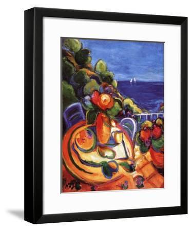 Breakfast with Flowers-Trius Nuria-Framed Art Print