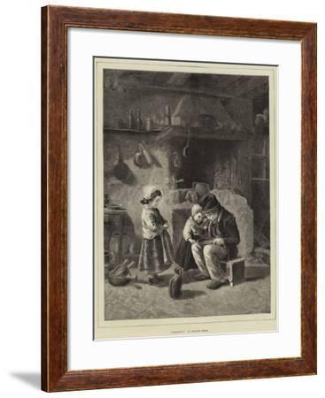 Breakfast--Framed Giclee Print