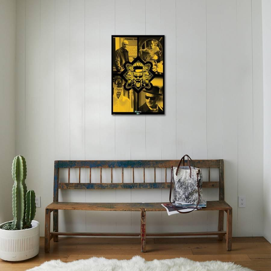 Breaking Bad - Quad Stretched Canvas Print by | Art.com