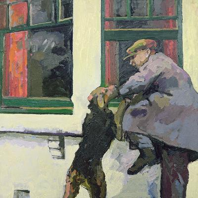 Breaking in - Locked Out, 1982-Peter Wilson-Giclee Print