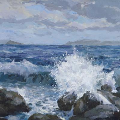 Breaking Shore-Julian Askins-Giclee Print