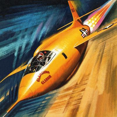 Breaking the Sound Barrier-Wilf Hardy-Giclee Print