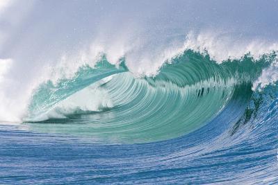 Breaking Wave in Hawaii-Ron Dahlquist-Photographic Print
